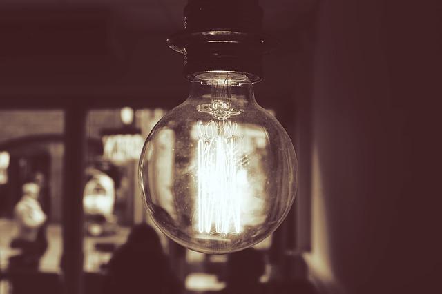 buclatá žárovka