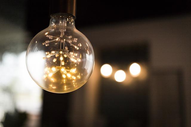 světýlka v žárovce