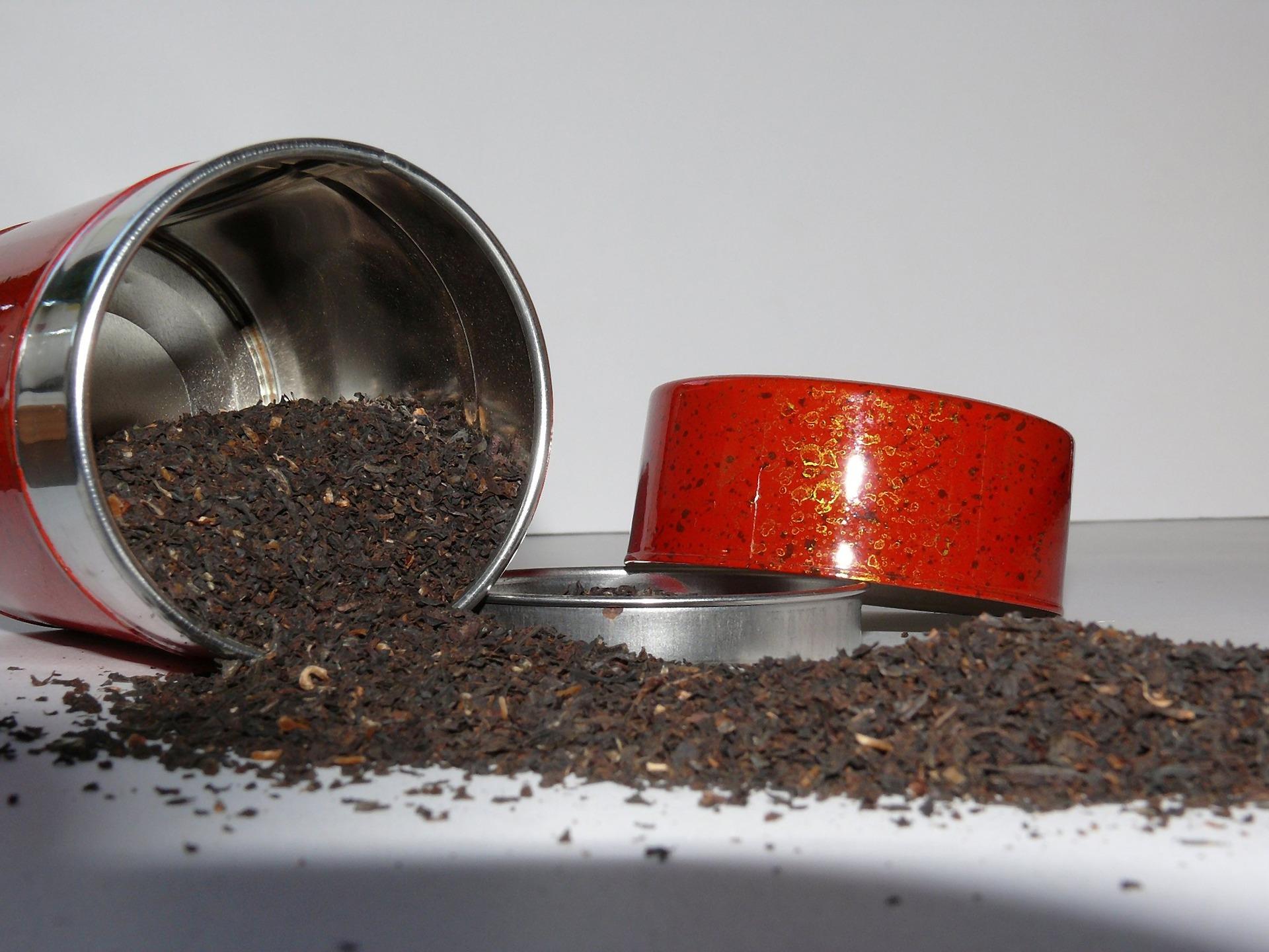 sypaný ča